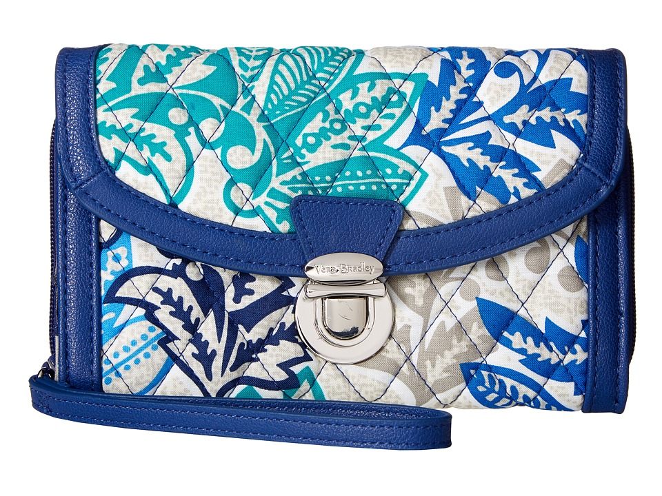 Vera Bradley - Ultimate Wristlet (Santiago) Clutch Handbags