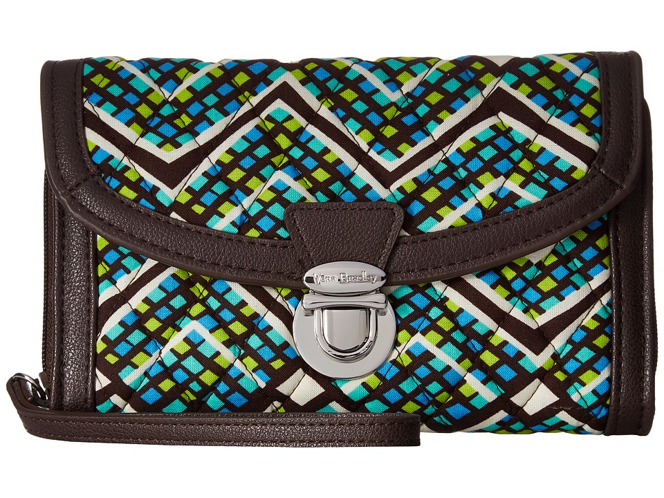 Vera Bradley - Ultimate Wristlet (Rain Forest) Clutch Handbags