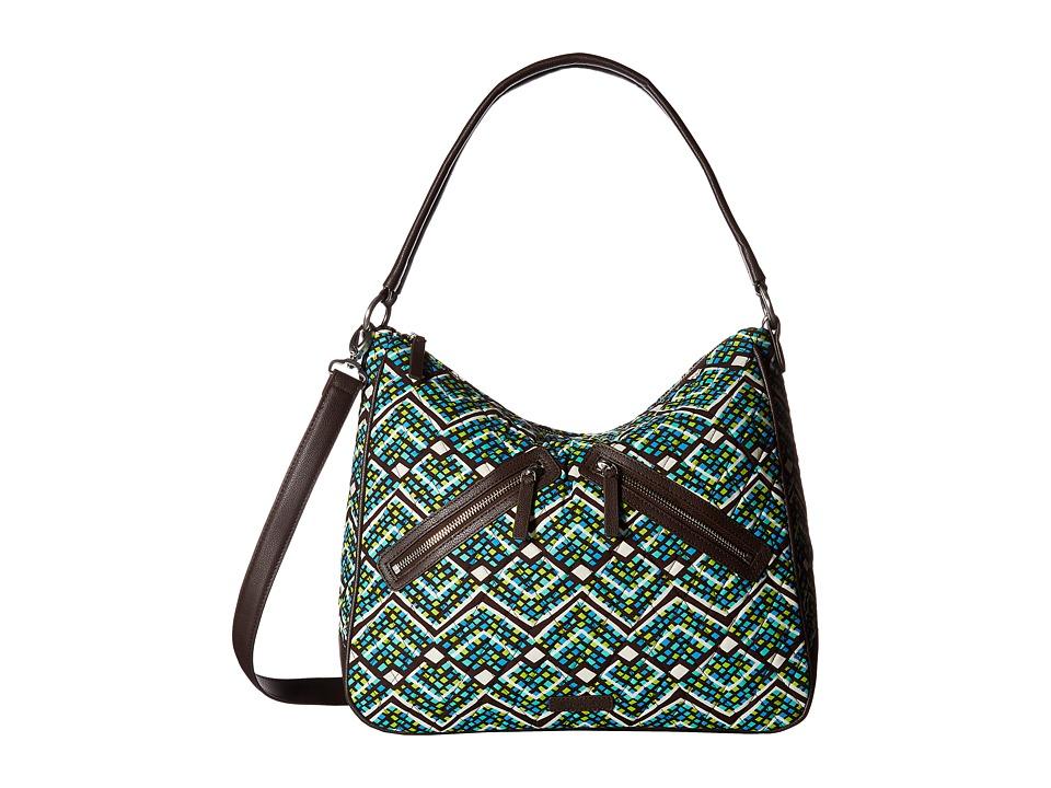 Vera Bradley - Vivian Hobo Bag (Rain Forest) Hobo Handbags