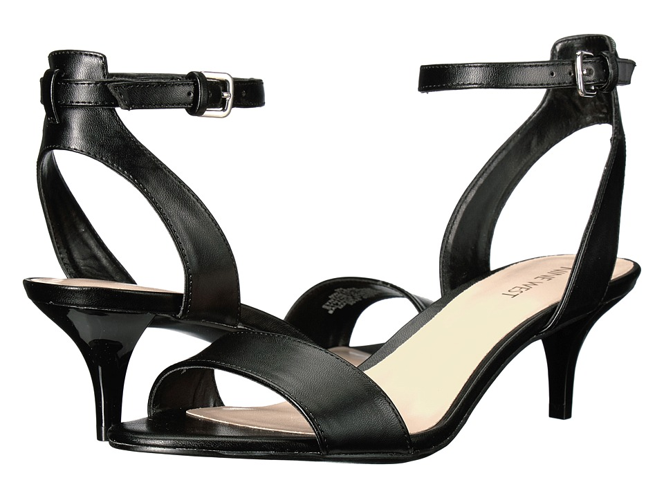 Nine West - Lesia (Black Synthetic) Women's Shoes