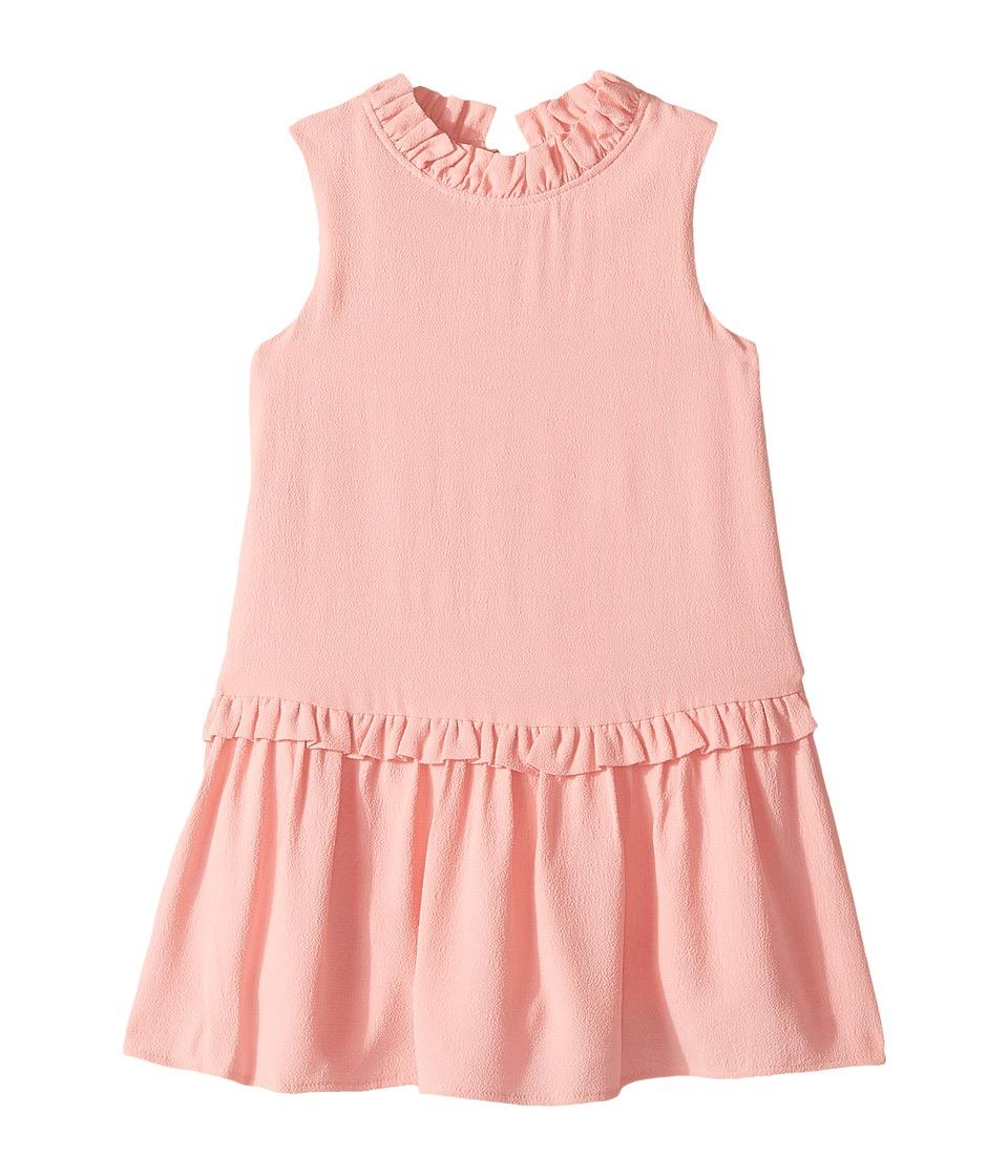 Kate Spade New York Kids - Ruffle Collar Dress (Toddler/Little Kids) (Rosebud) Girl's Dress
