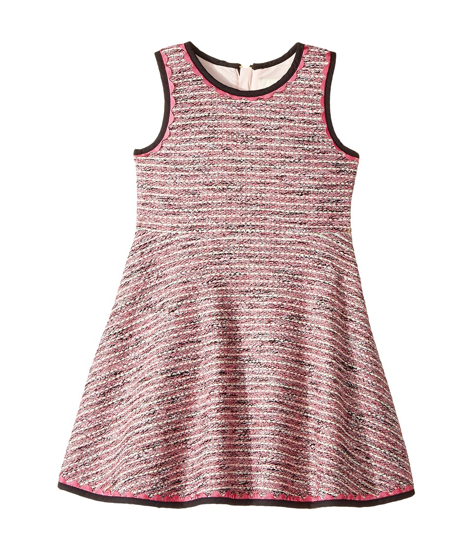 Kate Spade New York Kids - Knit Tweed Dress (Toddler/Little Kids) (Multi) Girl's Dress