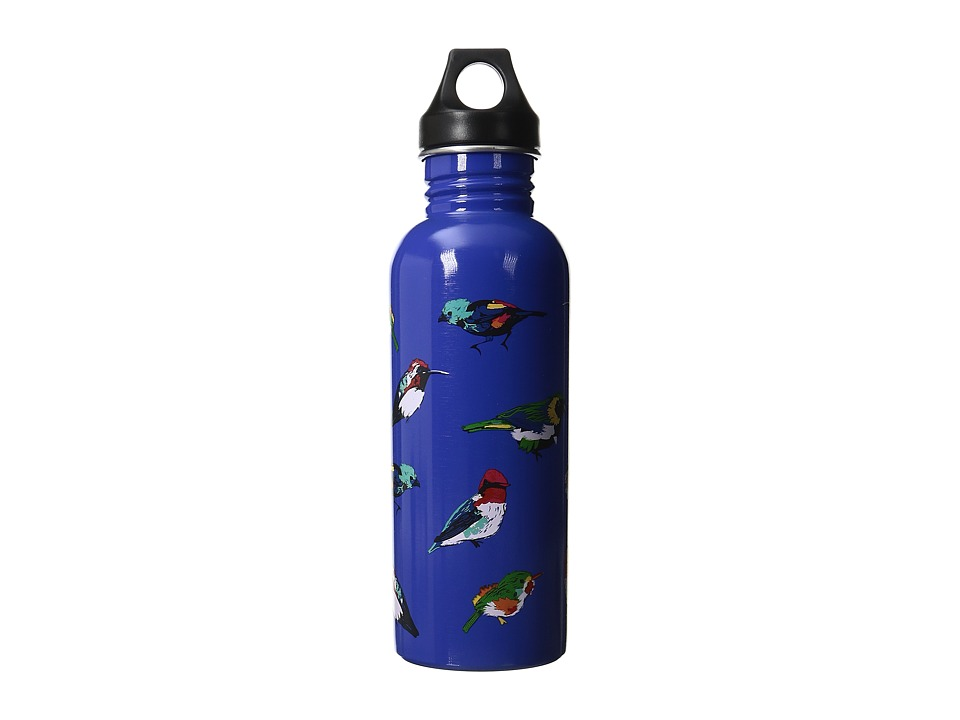Vera Bradley - 25 oz Water Bottle (Mini Tody Birds Blue) Individual Pieces Cookware