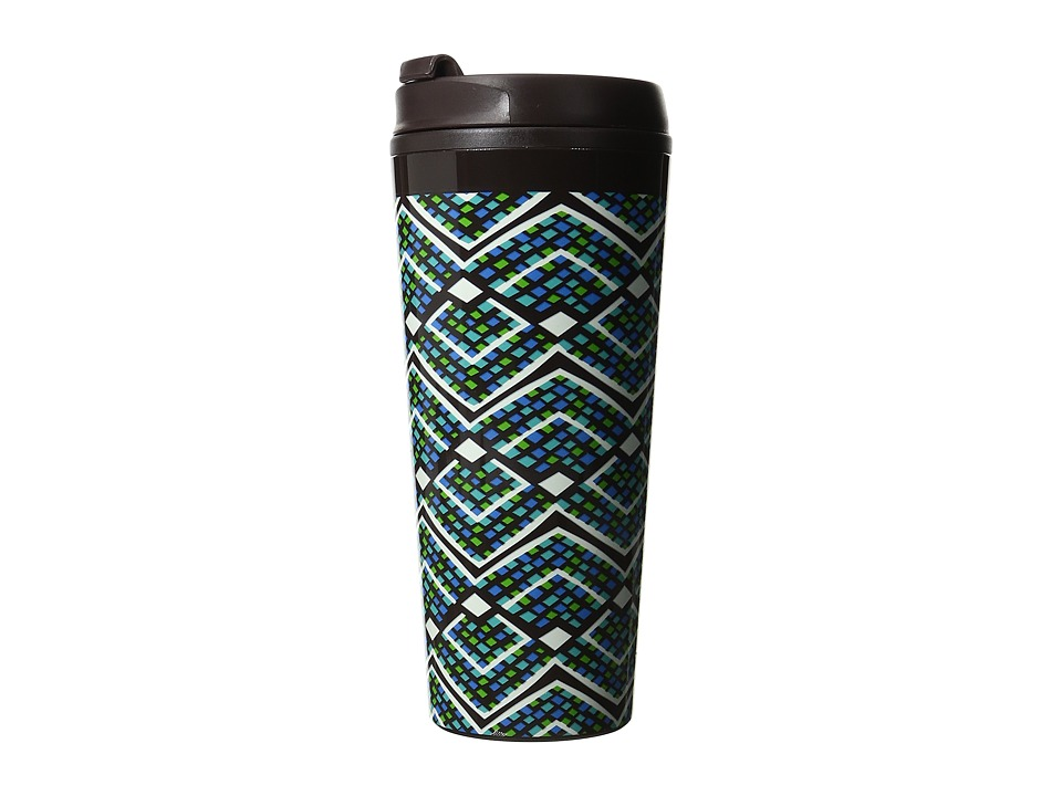 Vera Bradley - Travel Mug (Rain Forest) Individual Pieces Cookware