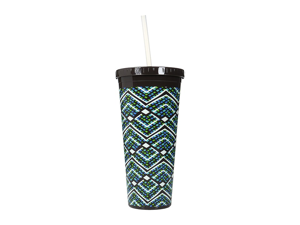 Vera Bradley - Travel Tumbler (Rain Forest) Wallet