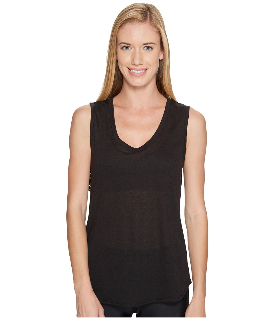 Lorna Jane - Tournament Tank Top (Black) Women's Sleeveless