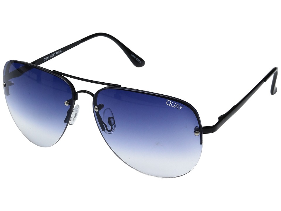 QUAY AUSTRALIA - Muse Fade (Black/Navy Fade) Fashion Sunglasses