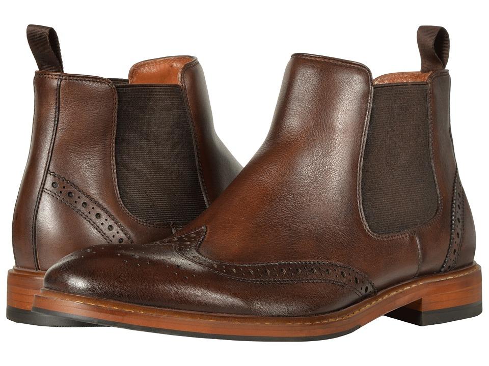 Florsheim Sheffield Wingtip Gore Boot (Brown) Men