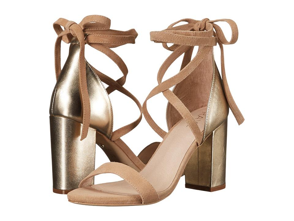 RAYE - Layla (Gold) High Heels