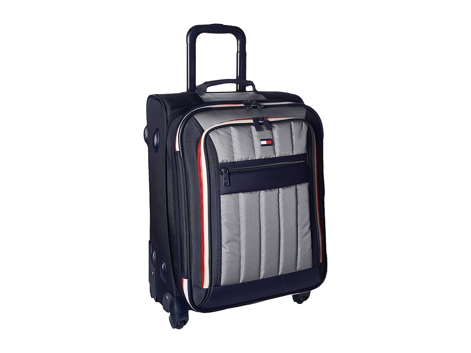 Tommy Hilfiger - Classic Sport 21 Upright Suitcase (Navy/Grey) Pullman Luggage