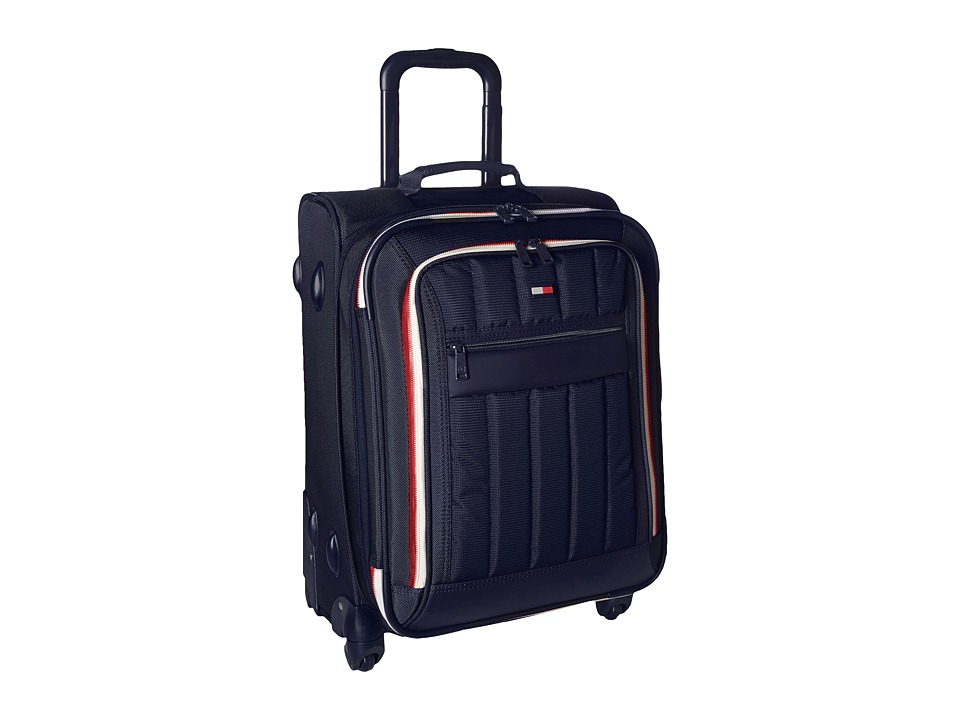 Tommy Hilfiger - Classic Sport 21 Upright Suitcase (Navy/Navy) Pullman Luggage