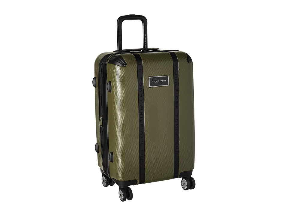 Tommy Hilfiger - Voyage 24 Upright Suitcase (Olive) Pullman Luggage