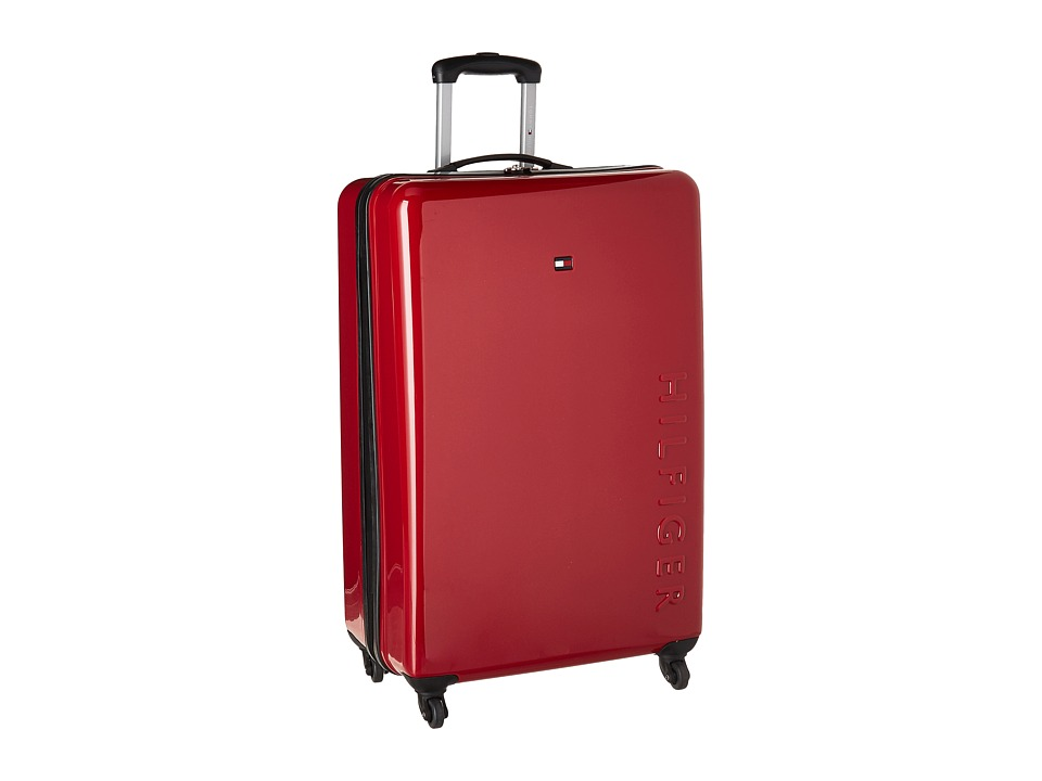 Tommy Hilfiger - Bristol 28 Upright Suitcase (Red) Carry on Luggage