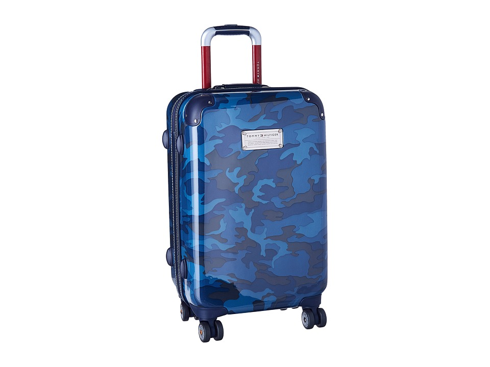 Tommy Hilfiger - EastCoast Camo 21 Upright Suitcase (Navy) Pullman Luggage