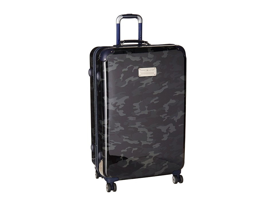 Tommy Hilfiger - EastCoast Camo 28 Upright Suitcase (Black) Pullman Luggage