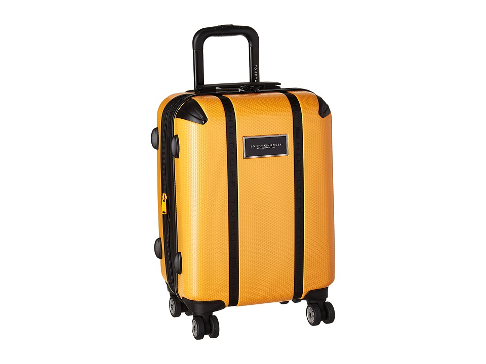 Tommy Hilfiger - Voyage 20 Upright Suitcase (Yellow) Carry on Luggage