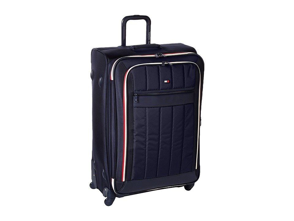 Tommy Hilfiger - Classic Sport 28 Upright Suitcase (Navy/Navy) Pullman Luggage