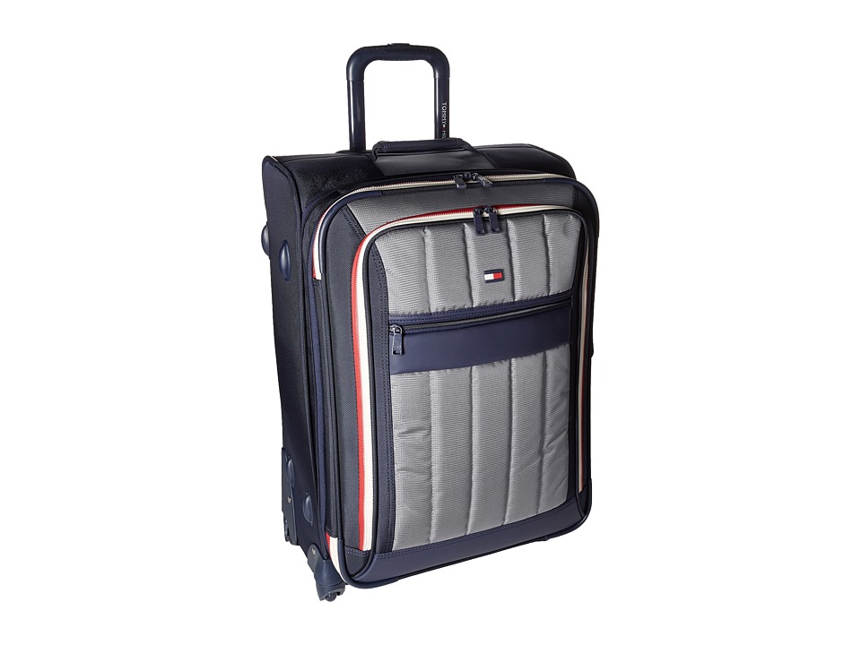 Tommy Hilfiger - Classic Sport 25 Upright Suitcase (Navy/Grey) Pullman Luggage