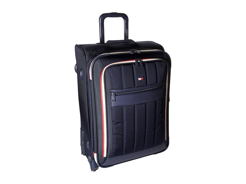 Tommy Hilfiger - Classic Sport 25 Upright Suitcase (Navy/Navy) Pullman Luggage