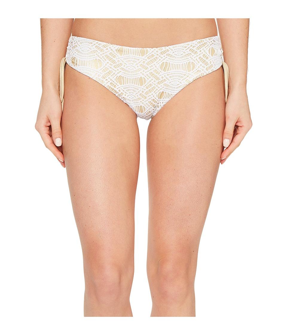 Luli Fama - Muchachita Linda Drawstring Side Full Bottom (Gold Rush) Women's Swimwear