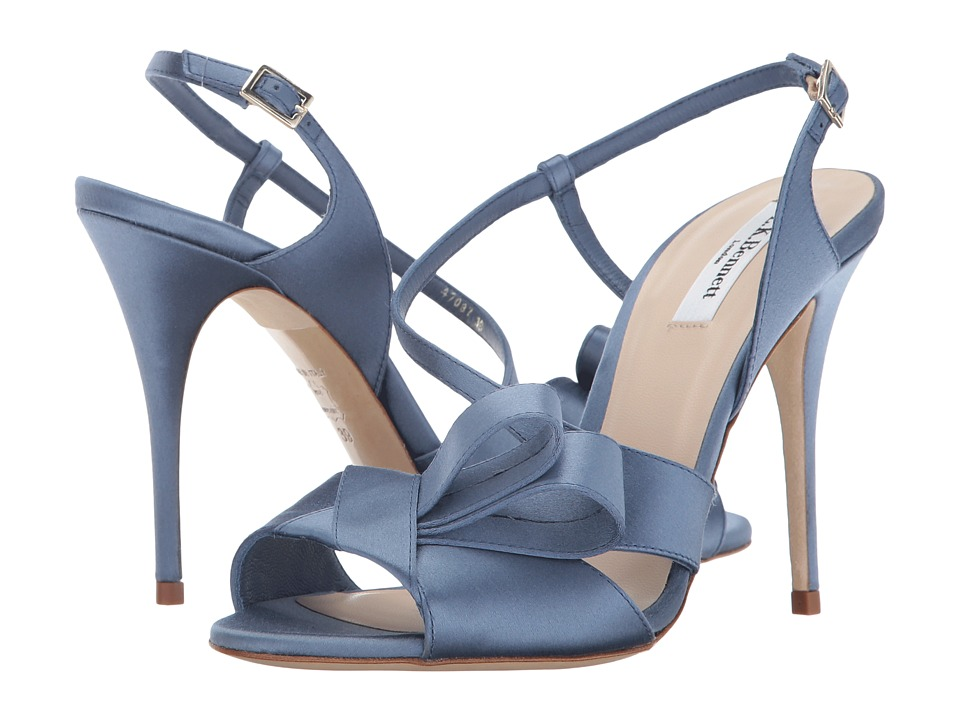 L.K. Bennett - Erica (Powder Blue Satin) Women's Shoes