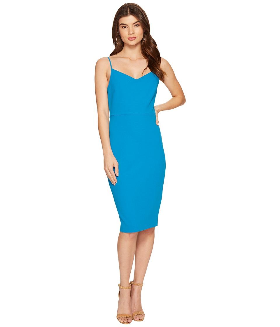 1.STATE - Spaghetti Strap Slip Dress (Pacific Ocean) Women's Dress