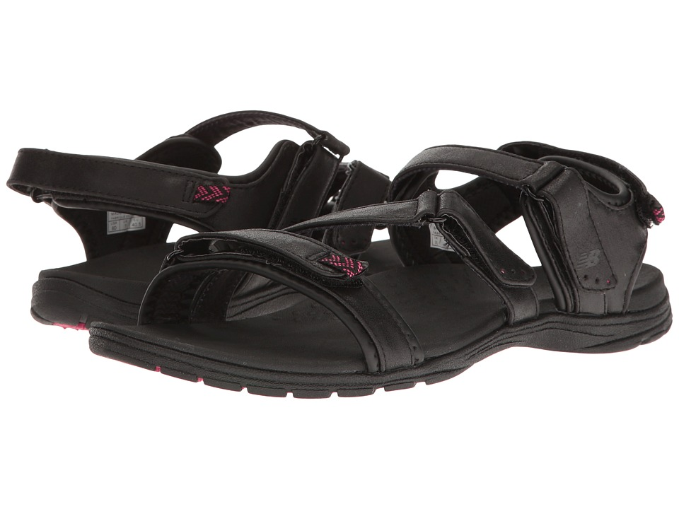 New Balance - Maya Sandal (Black/Pink) Women's Sandals