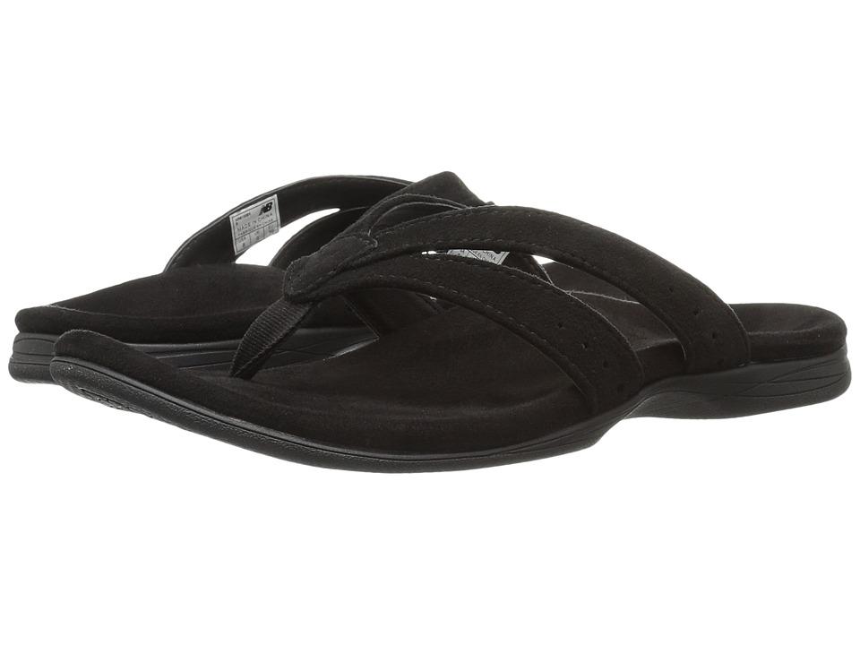 New Balance - Shasta Thong (Black) Women's Sandals