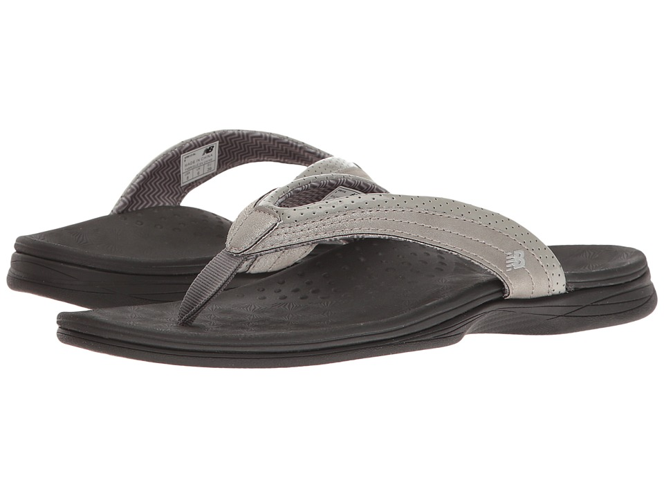 New Balance - Hayden Thong (Silver) Women's Sandals