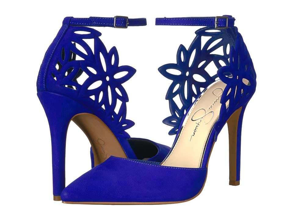Jessica Simpson - Cancan (Blue Violet Rio Nubuck) Women's Shoes