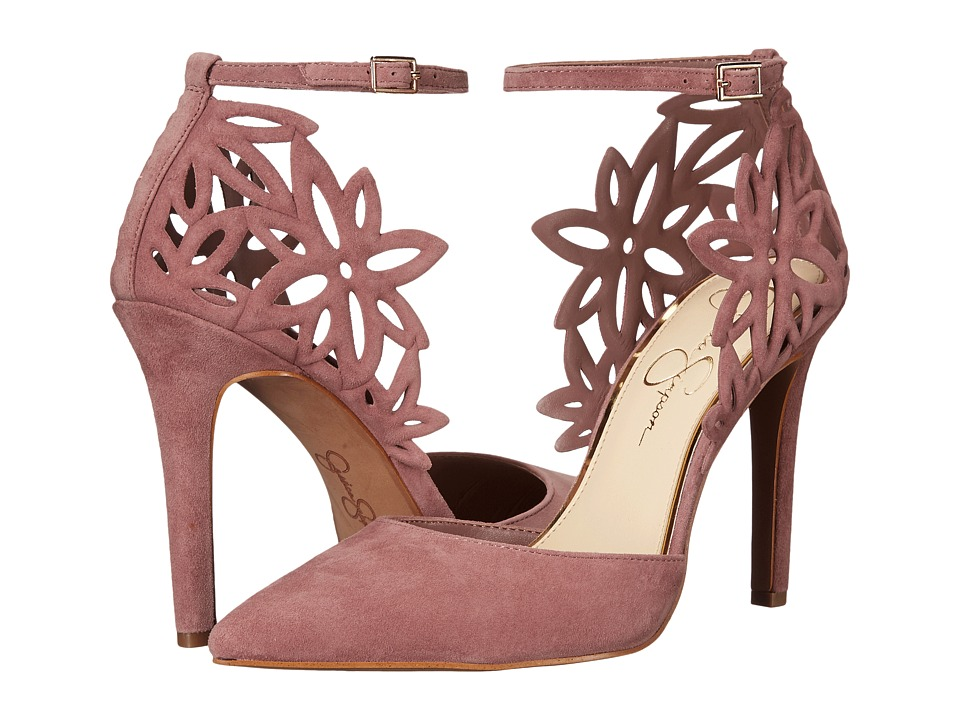 Jessica Simpson - Cancan (Red Muse Rio Nubuck) Women's Shoes