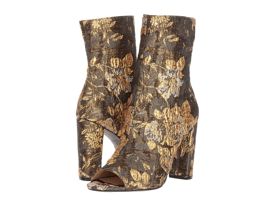 Jessica Simpson Elara (Metallic Multi/Metallic Floral Brocade) Women