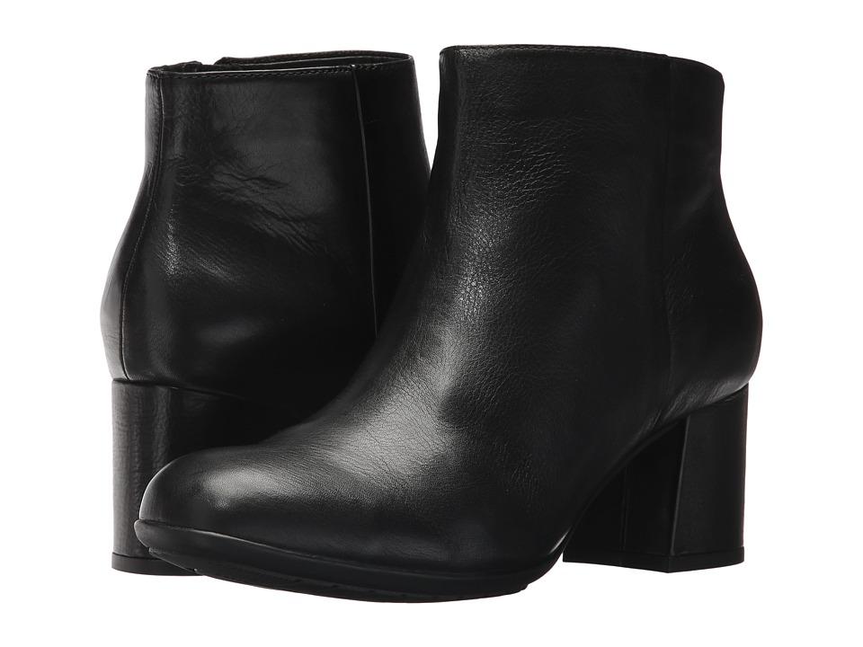 Earth Apollo Earthies (Black Full Grain Leather) Women
