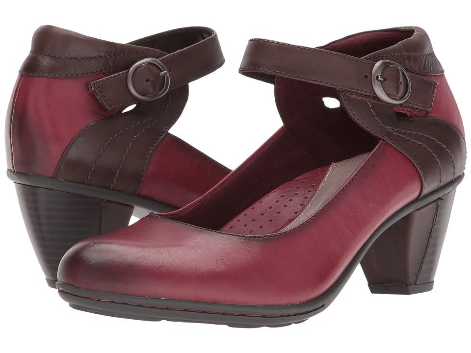 Earth Garnet (Wine Full Grain Leather) High Heels