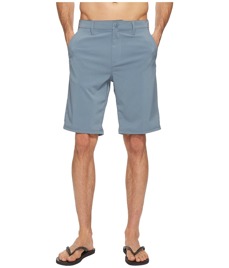 Vans - Authentic Hybrid Shorts 21 (Blue Mirage) Men's Shorts