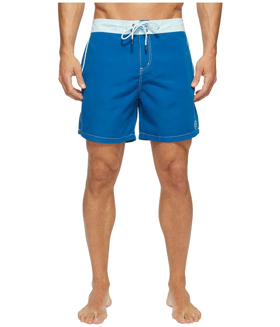 Mr. Swim Solid Chuck Boardshorts (Navy) Men