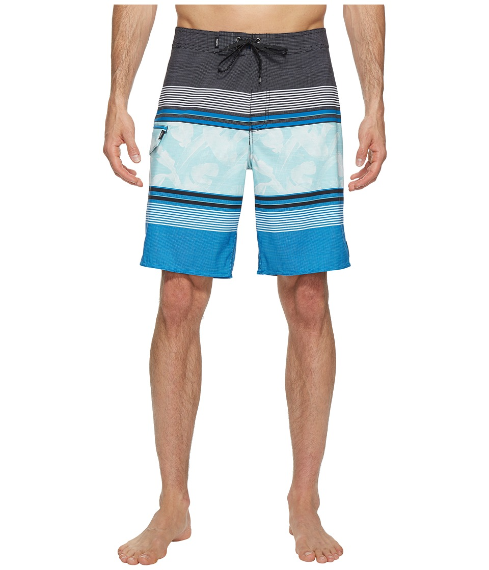 Vans - Bonsai Stripe Stretch Boardshorts 20 (Imperial Blue) Men's Swimwear