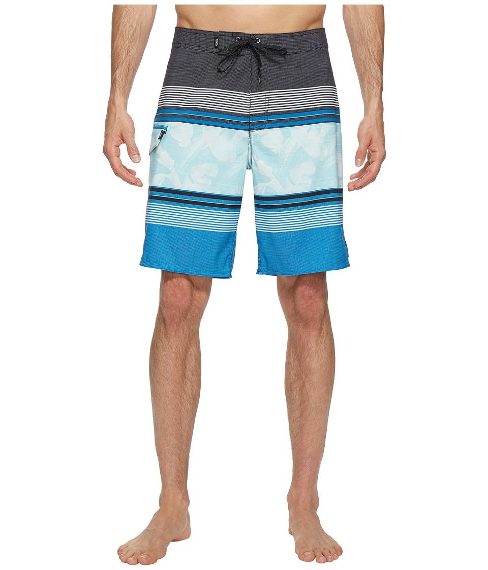 Vans - Bonsai Stripe Stretch Boardshorts 20 (Imperial Blue) Men's Swimwear