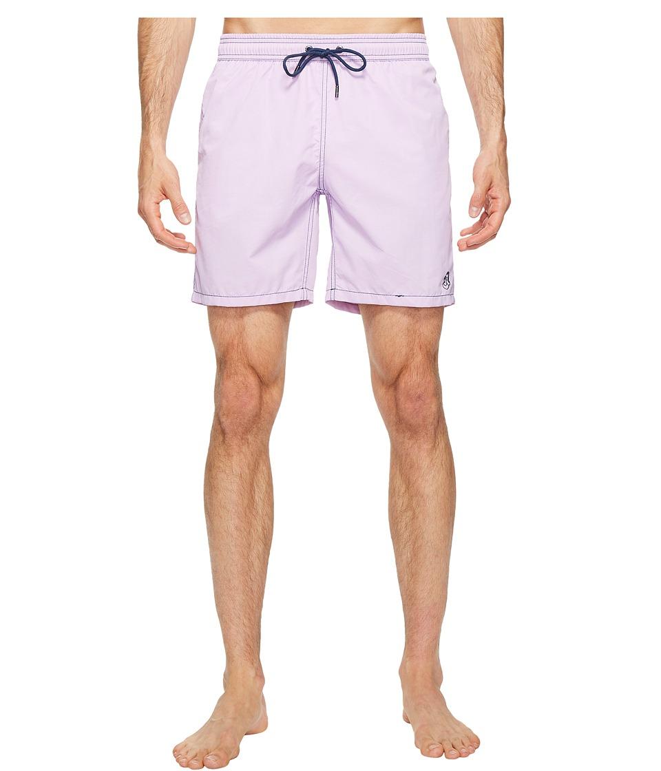 Mr. Swim - Solid Dale Swim Trunk (Taffy Pink) Men's Swimwear