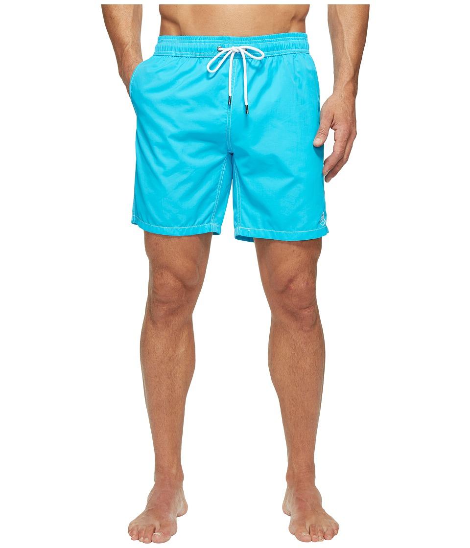 Mr. Swim - Solid Dale Swim Trunk (Electric Blue) Men's Swimwear