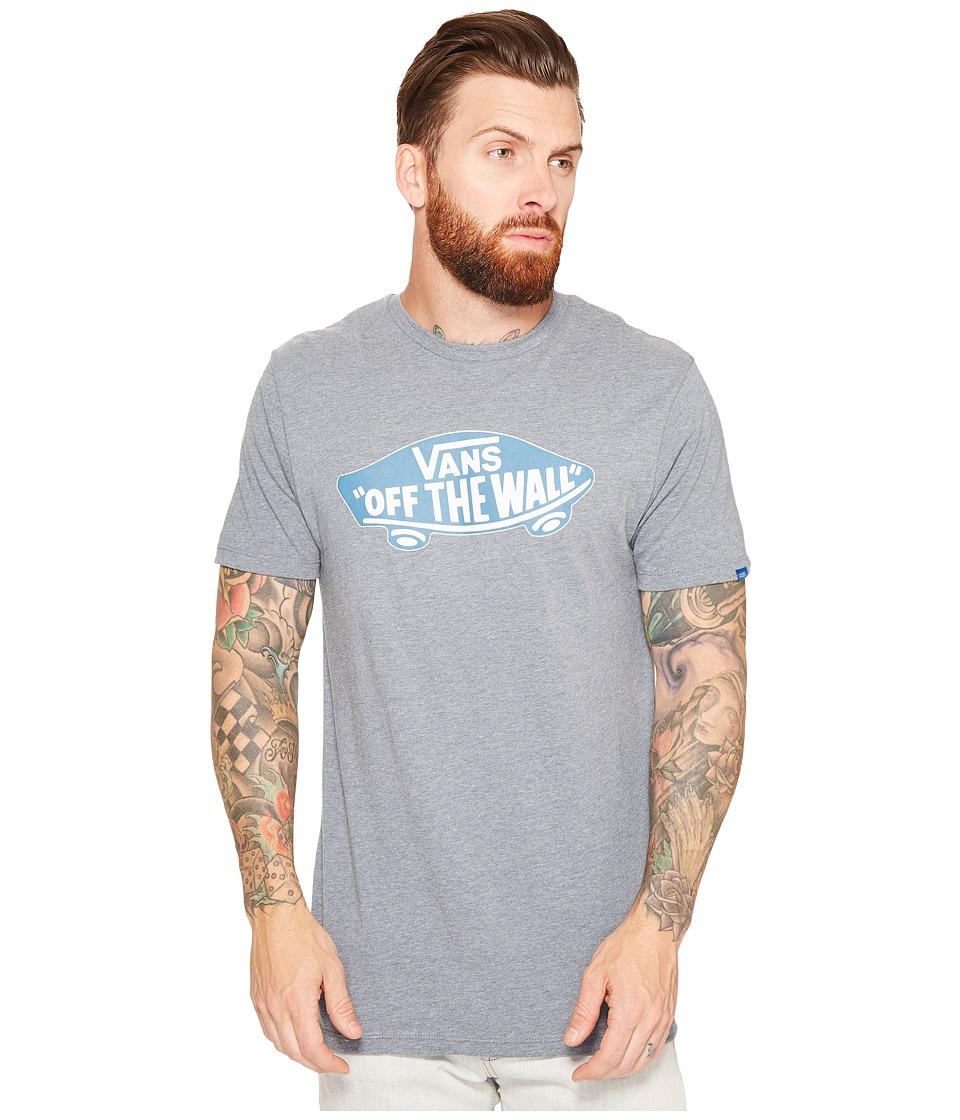 Vans - Vans OTW Tee (Heather Grey/Larkspur) Men's T Shirt