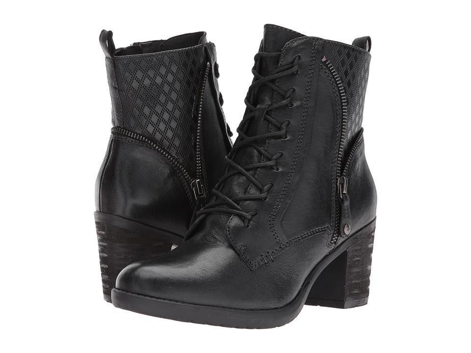 Earth Missoula (Black Brush-Off Leather) Women