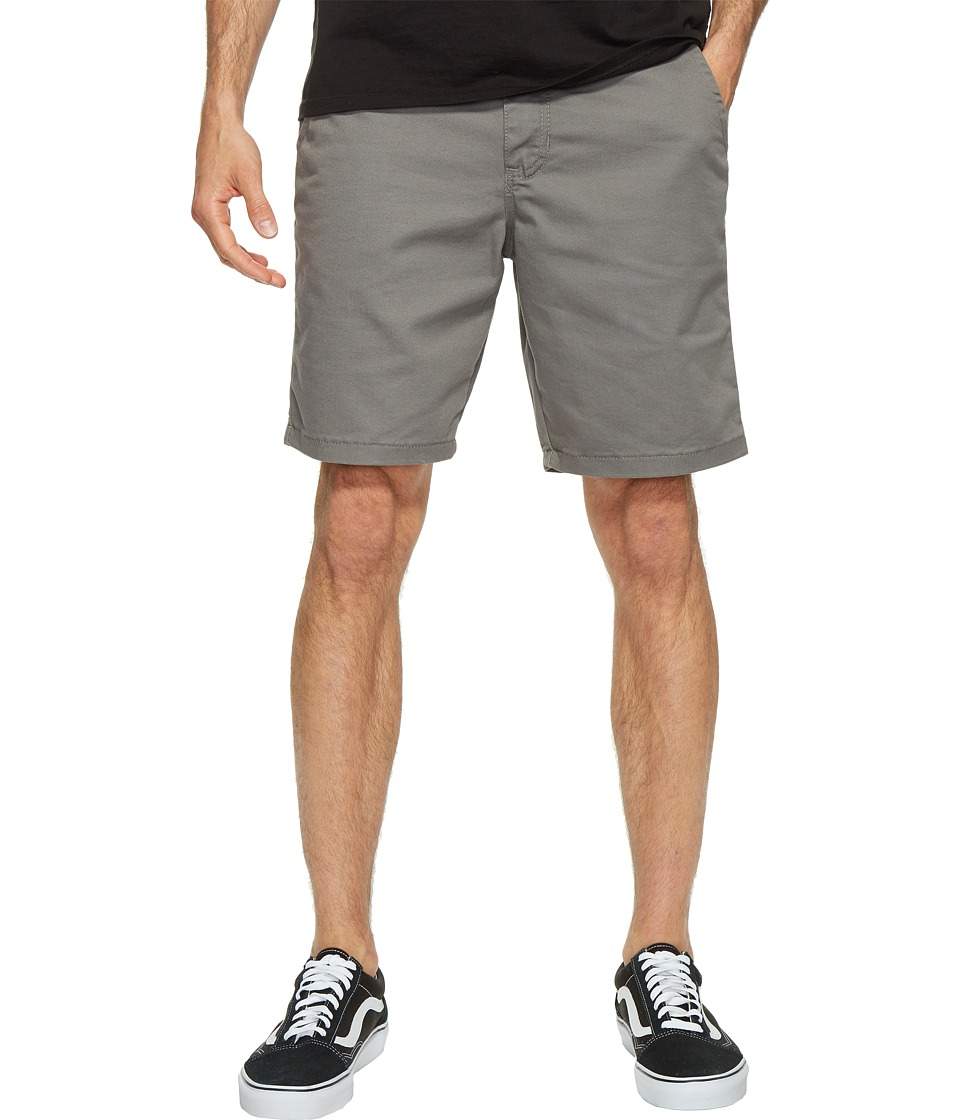 Vans - Authentic Stretch Shorts 20 (Pewter) Men's Shorts
