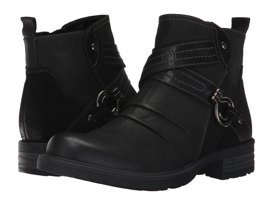Earth Laurel (Black Vintage Leather) Women