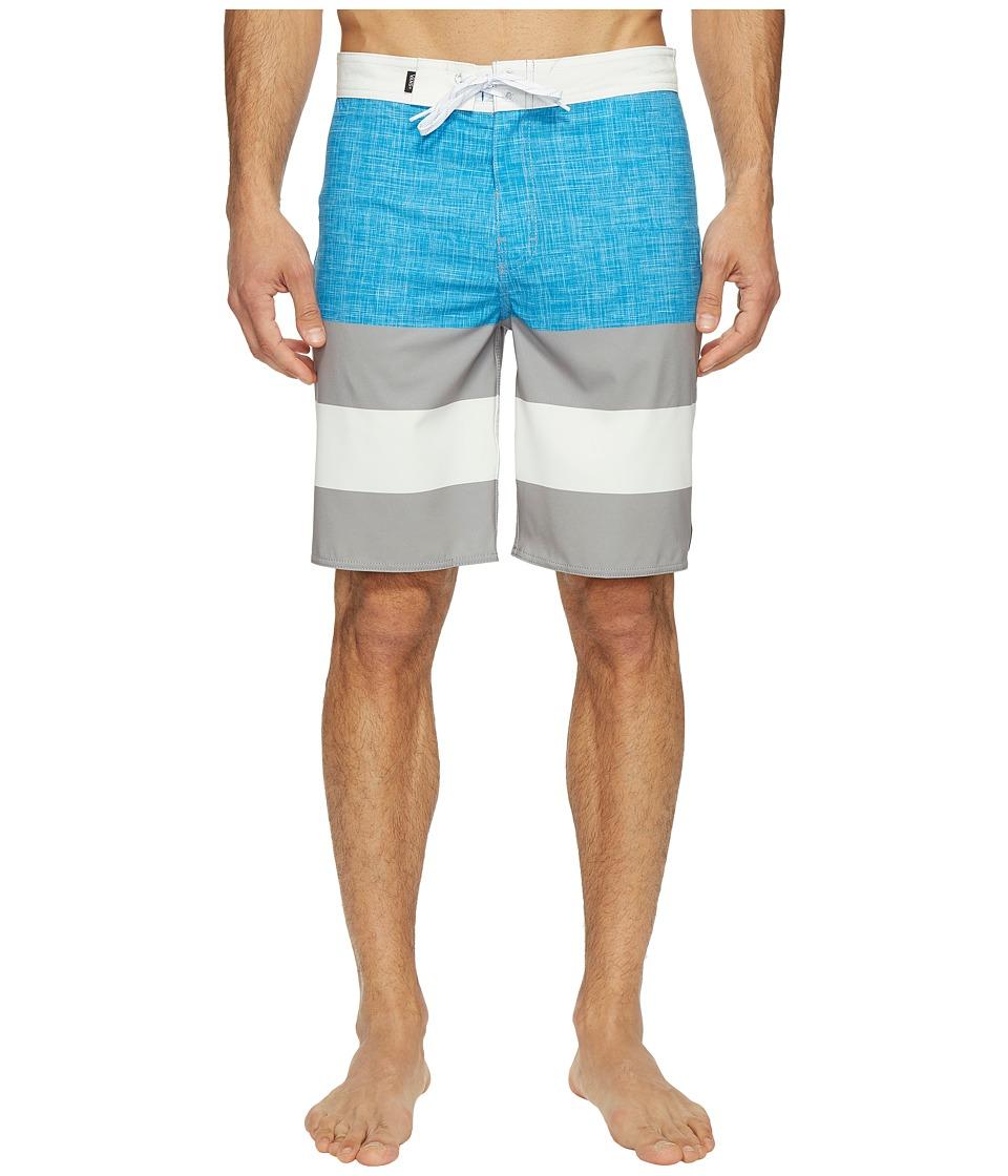 Vans - Era Stretch Boardshorts 20 (Imperial Blue/Frost Grey) Men's Swimwear
