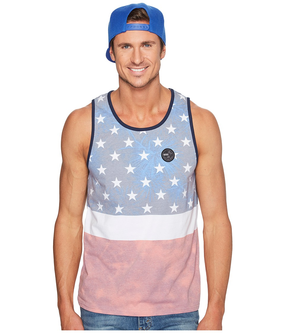 Vans - Era Stars Tank Top (American Flag) Men's Sleeveless