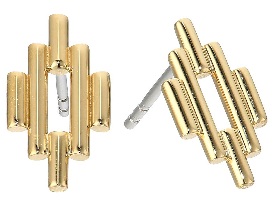 Fossil - Southwest Diamond Studs Earrings (Gold Tone) Earring