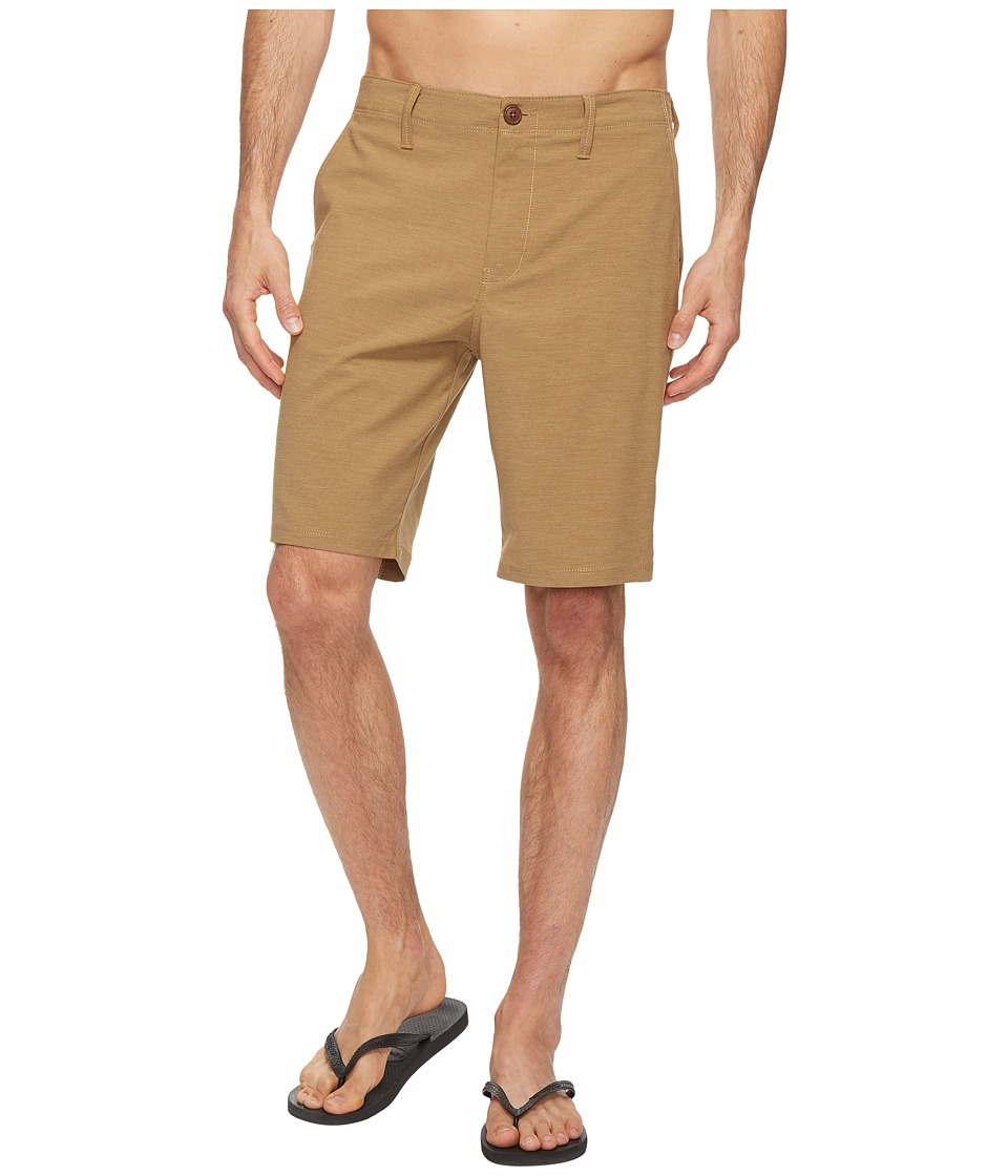 Vans - Gaviota Heather Hybrid Shorts 20 (Dirt) Men's Shorts