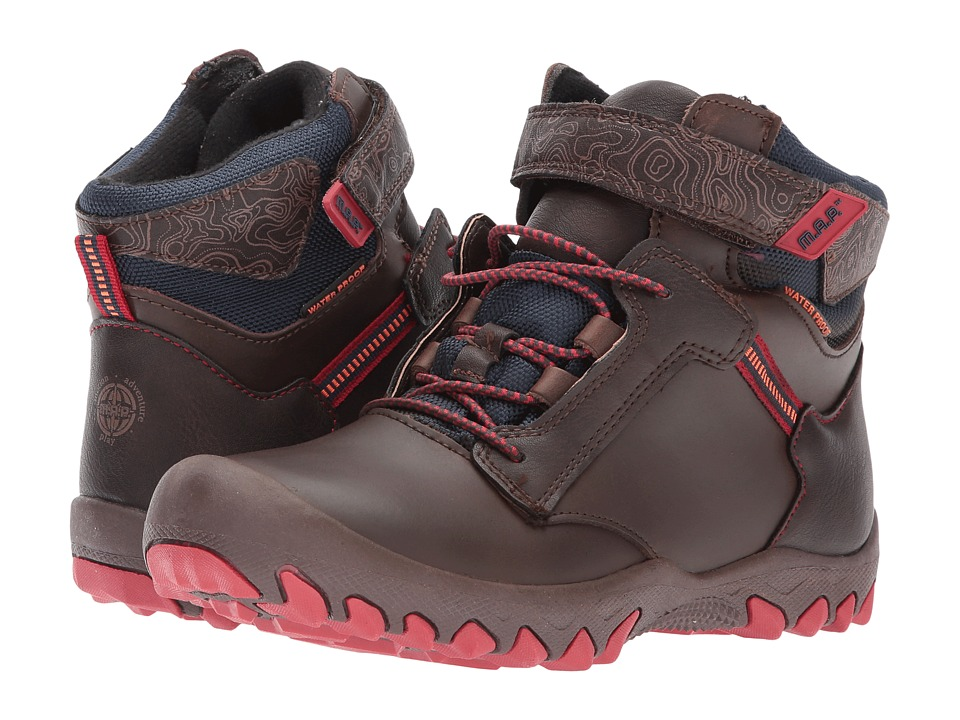 M.A.P. - Rainier (Little Kid/Big Kid) (Brown/Red) Boy's Shoes