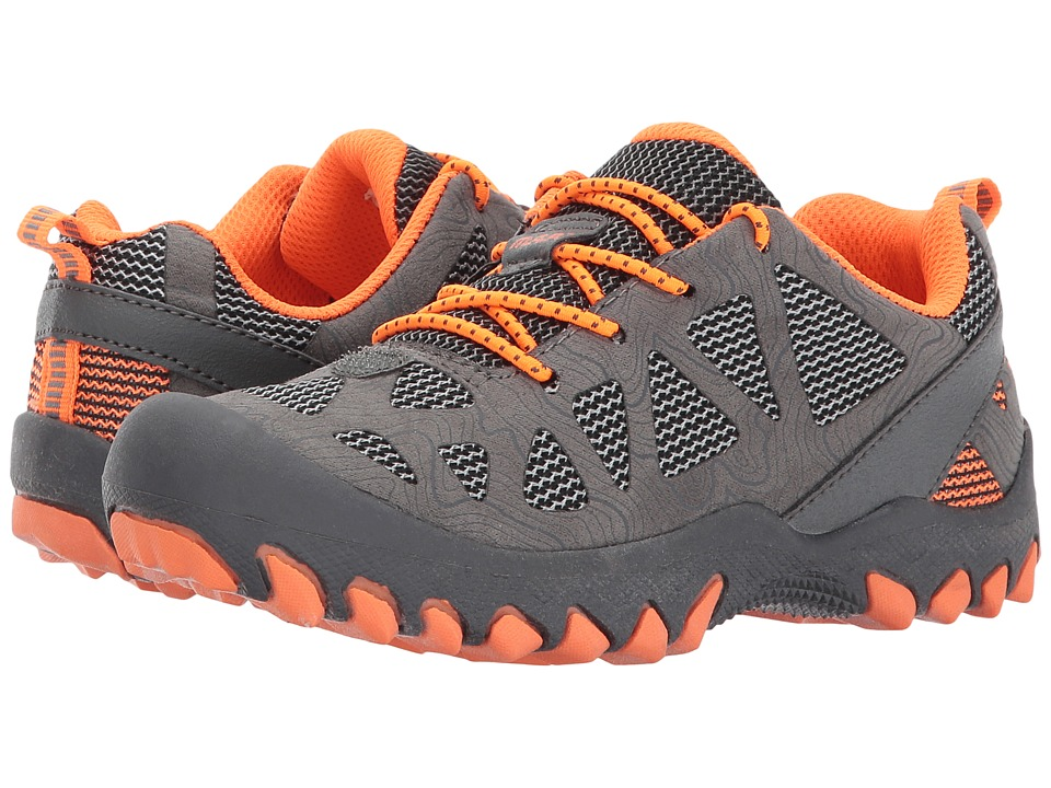 M.A.P. - Troy (Little Kid/Big Kid) (Grey/Orange) Boy's Shoes
